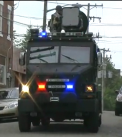 LRAD at Pittsburg G20 Summit