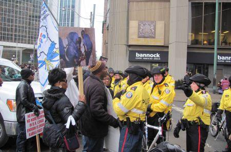 Not allowed on Bay Street, Feb 2012