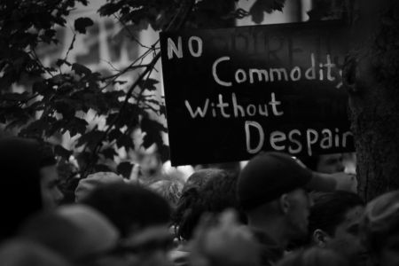 """No Commodity Without Despair"""