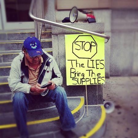 """""""Supplies not lies"""""""