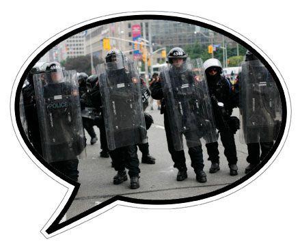 Reader's stories #1: Police Harrasment