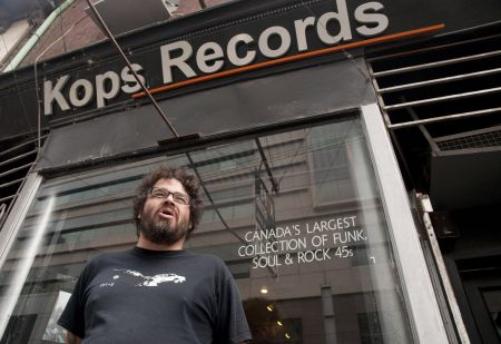Alex Leger of Kops Records PHOTO Sean Decory