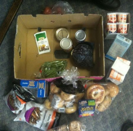 Food Hamper for a Diabetic