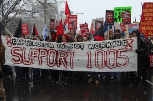 """""""Evil anarchists"""" supporting pensioners"""