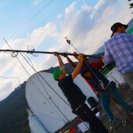 Reclaiming the airwaves: building autonomous cell phone networks for rural Indigenous communities in Oaxaca