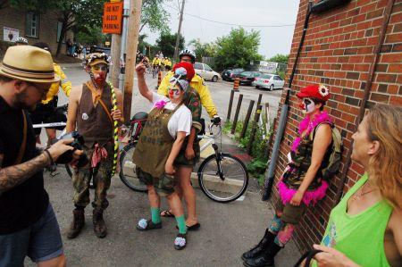 Convergence Clowns PHOTO Sean Decory