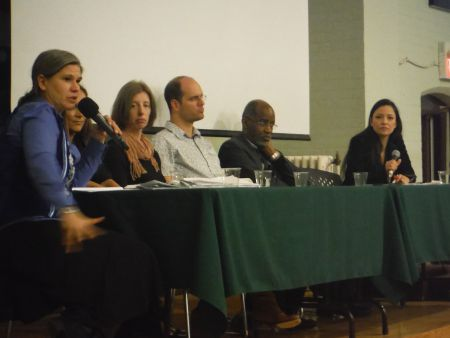 Dr. Janet Smylie, Dr. Ricci Harris, Dr. Donna Cormack, Dr. Yin Paradies, Dr. David R. Williams, moderator Connie Walker