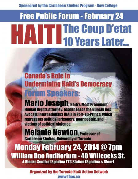 Solidarity with the people of Haiti