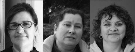 Patricia Townes, Isabella Felinczak, and Joan Jones