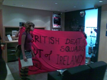 Inside the British Consulate in Toronto, Ontario