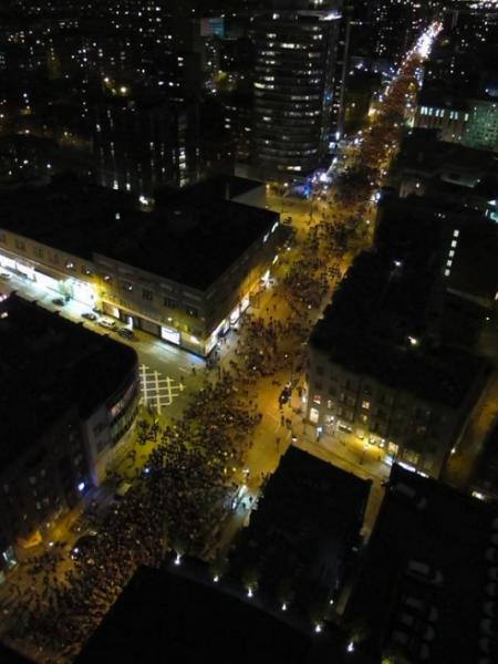"""BLOG: Montreal Demonstration """"Turned Violent"""" When Police Shot Explosives at Us"""