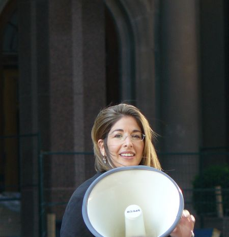 "Naomi Klein: ""Stop playing politics and public relations with our friends lives and let them go."""
