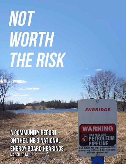 Not Worth the Risk: A Community Report on Line 9