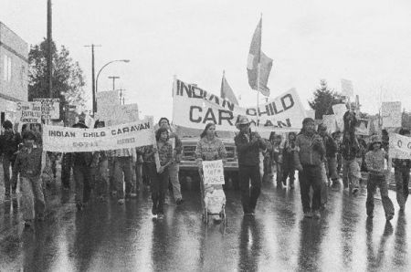 Indian Child Caravan – Remembering the Thanksgiving direct action of 1980