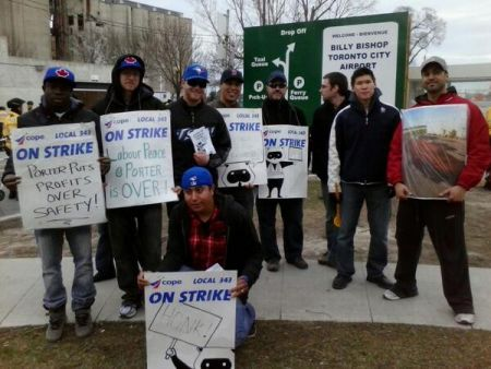 Workers on Strike PHOTO Megan Kinch