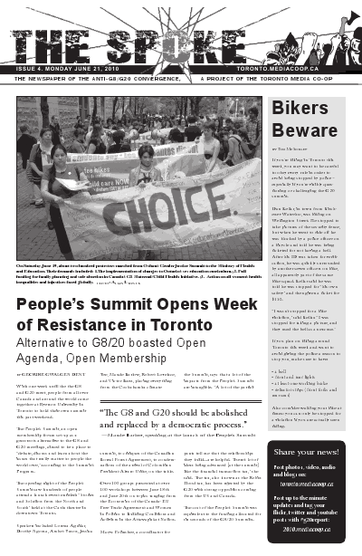 The Spoke: TMC's Broadsheet, Issue 4