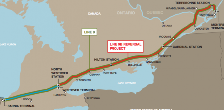 Enbridge applies for second phase of pipeline reversal