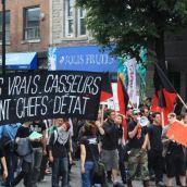 Montréal: Demonstration Against G20 Police Brutality