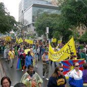 march on university avenue june 26