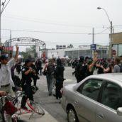 police attack jail solidarity demo, june 27