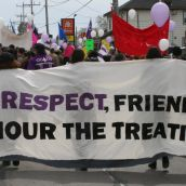 Peace, Friendship, Respect - Honour the Treaties