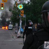 Gabriel Sinduda: g20.toronto. Approaching the Line of Intimidation -- I smell smoke...