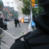 Gabriel Sinduda: g20.toronto. Approaching the Line of Intimidation -- CBC special coverage...