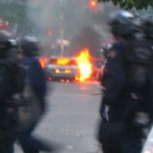 Gabriel Sinduda: g20.toronto. Approaching the Line of Intimidation -- Stand still for group photo