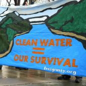 Clean water equals survival