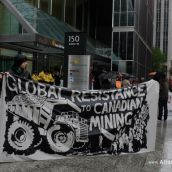 Global Resistance to Canadian Mining!