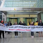 Death of our land= Death of our people