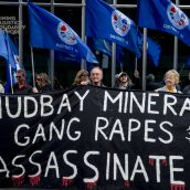 PHOTO ESSAY: United Against Hudbay, a protest at Hudbay's shareholder meeting