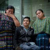 Angelica, German, and Rosa are plaintiffs in the precedent-setting lawsuits against Hudbay Minerals and CGN, representing the first time a Canadian mining company has been brought to court in this country for crimes committed overseas.