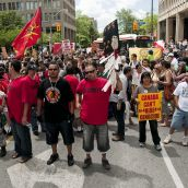 Canada Can't Hide Genocide March