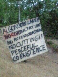 "photo by Shannon Chief ""SIGNS THAT WAS SUPPOSED TO ENSURE THE FUTURE GENERATIONS.."""