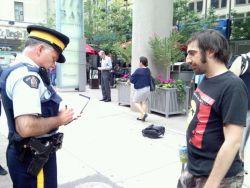 Ichim interviewed by RCMP Officer