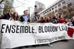 How can we build the student movement across Canada?