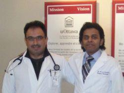 Dr. Khalid Aba-Alkhail and Dr. Waleed AlGhaithy