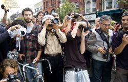 Photographers at G20