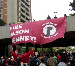 """Fire Jason Kenney"" PHOTO Susy Alvarez"