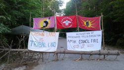 AW@L Radio - 2019-08-02 - John Hawke arrested as Awenda Park Blockade is dismantled and the Oshkimaadziig camp cabin razed