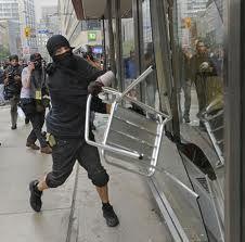 Black Bloc at G20-Toronto