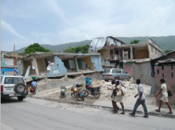 Is the earthquake in Haiti a natural disaster of a human one? (photo courtesy of Roger Annis)