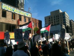 All Out For Gaza Rally, August 10th, 2014