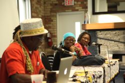 Panelists at Emancipation Day 2012 event in Toronto