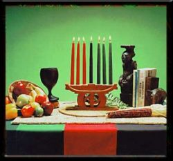 The symbols of Kwanzaa