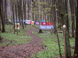 AW@L Radio - 2019-06-21 - Oshkimaadziig camp and the National Indigenous Peoples Day blockade of Awenda Park.