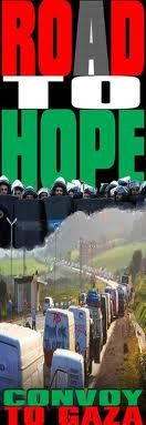 Road to Hope convoy to Gaza