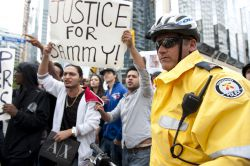 Toronto killer cop back on the job — Justice for Sammy Yatim now!