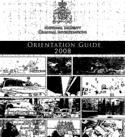 DOCUMENT: Read the RCMP's orientation guide for National Security programs